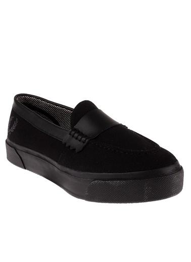 Fred Perry Ayakkabı Siyah